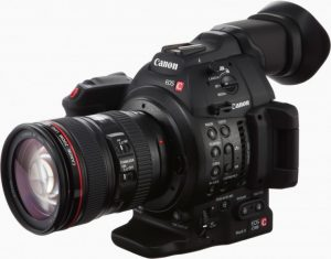 Canon c100 mark 2